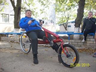 Владимир Рожков на киевских байках
