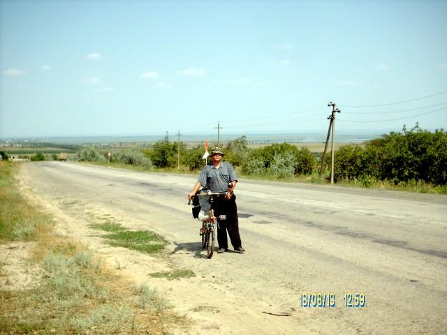 Игорь покорил холм Фото А. Ганшина