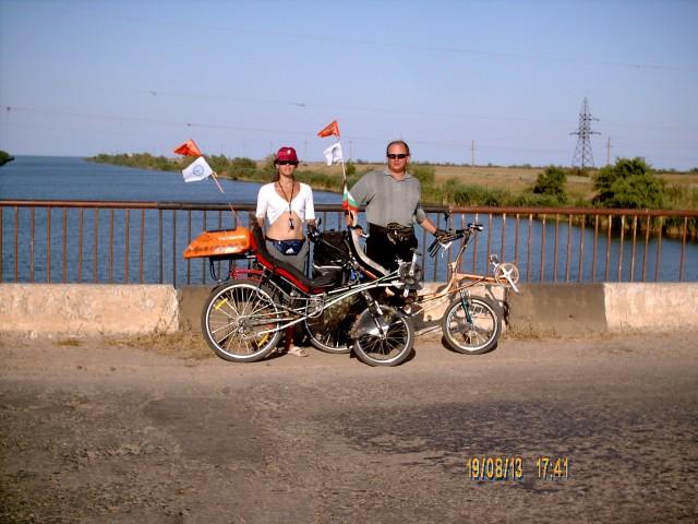 Карина и Игорь на мосту через канал фото Алексей Ганшина