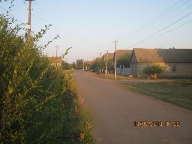 Улица села Кулевча. Фото Игоря Галанина