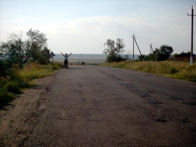 Электровело на вершине Фото: Алексей