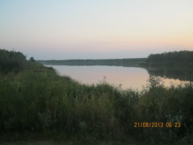 Озеро (затопленный карьер) возле Вилково фото: Игорь