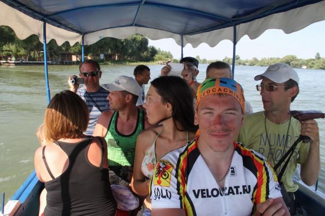 Во время экскурсии по Дунаю. Фото: Борис