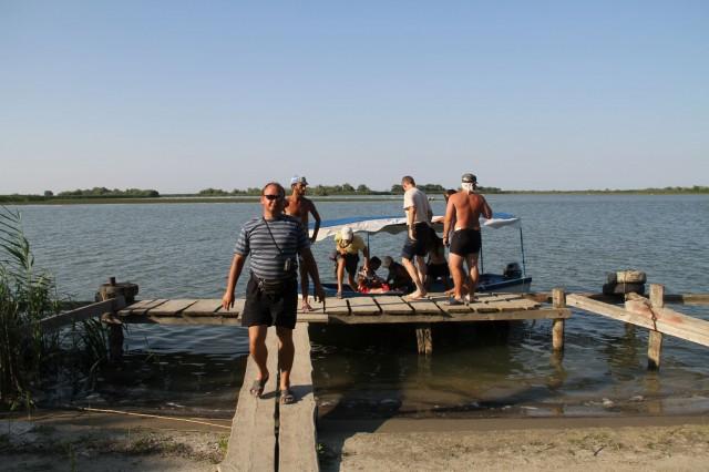 Высадка из лодки Фото: Соло