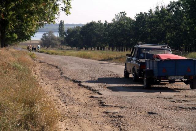 Разбитая дорога фото: Соло