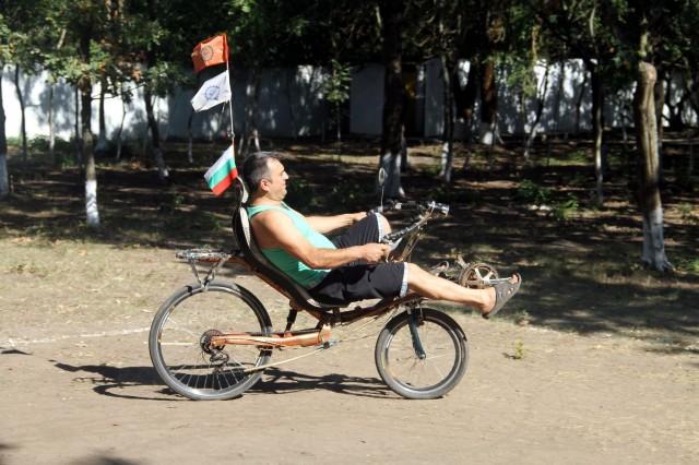 Виталий научился ездить на лигераде фото: Соло