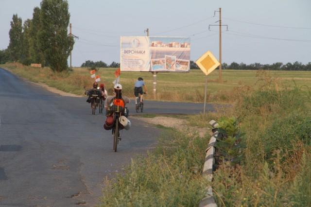 На окраине села Барабой