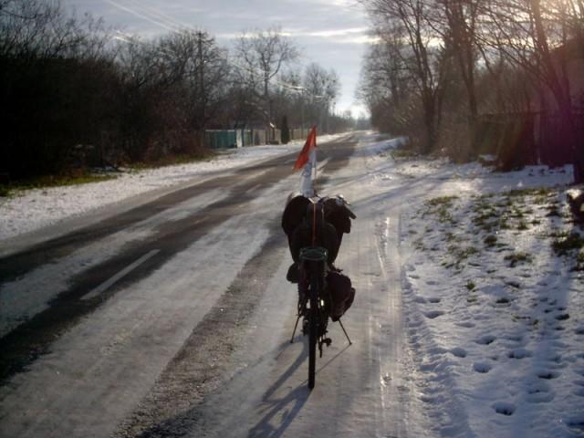 Последний лёд на маршруте
