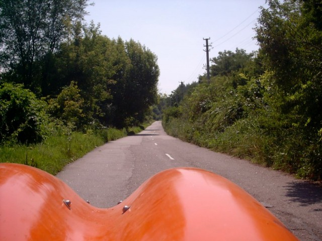 Дорога с Суботові