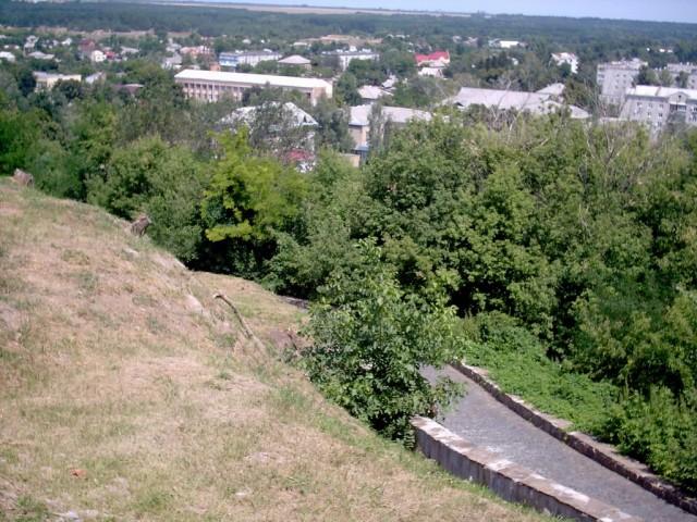 На Замковій Горі м.Чигирин