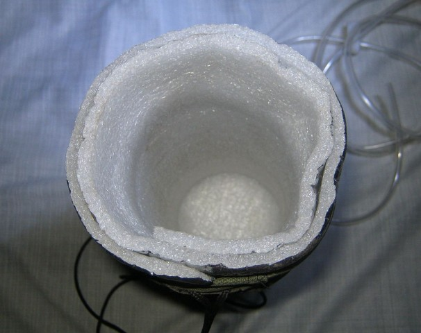 Усередині сумки - звичайна теплоізоляція!