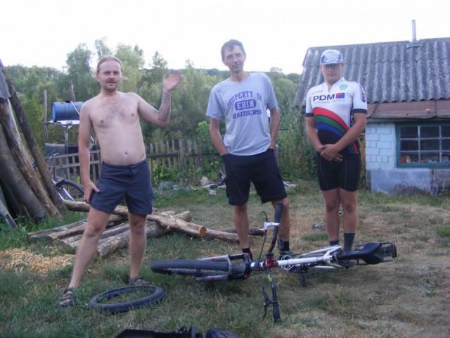 На подвір'ї Олександра Борисовича