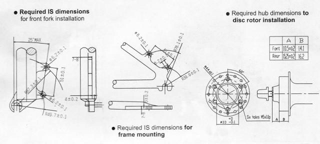 тормоза дисковые-схема