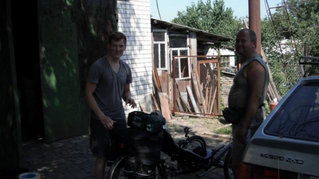 Ігорь і Габрієль в гостях у Олександра в Чигирині