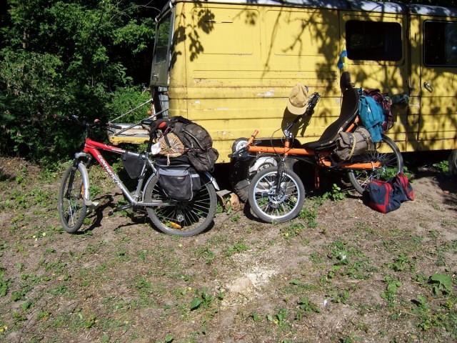 Лігерад Олександра і велосипеди кіровоградців