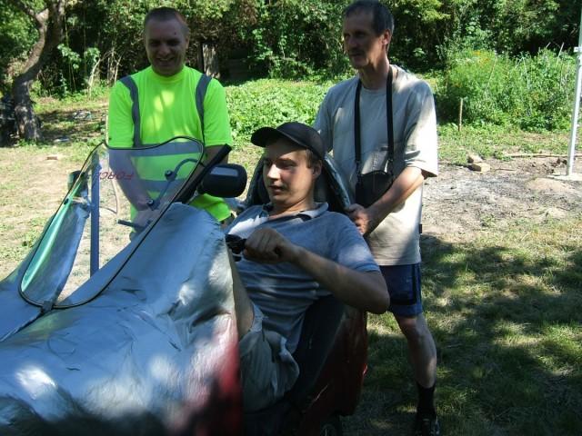 Кіровоградські велосипедисти пробують лігерад Павла