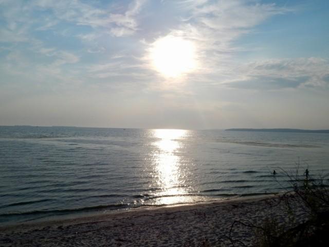 Ранок на березі Дніпра