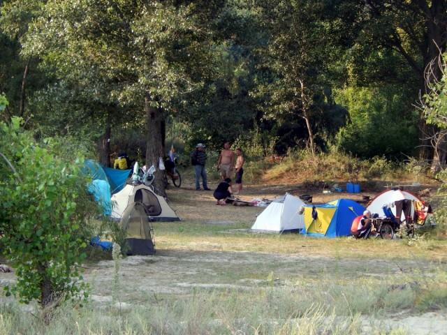 Ранок у таборі