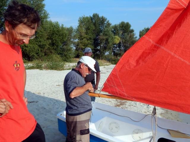Підготовка човна до плавання