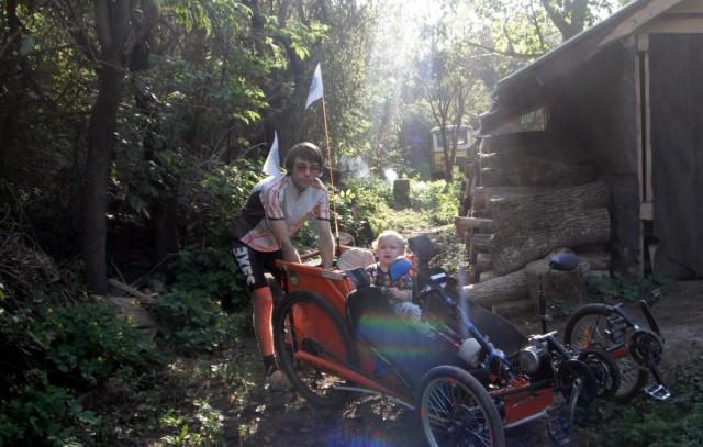 Олексій і Віка перед виїздом