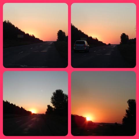 Схід сонця...