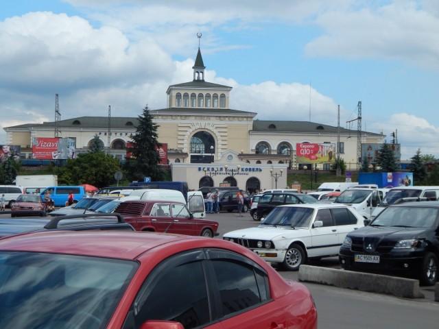 Залізничний вокзал станції Ковель