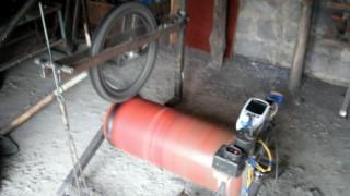 Тестування колеса на стенді