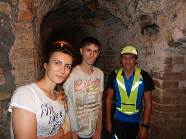 Древня будівля підземілля вражає своїми маштабами.