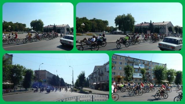 Велопробіг центральними вулицями міста.