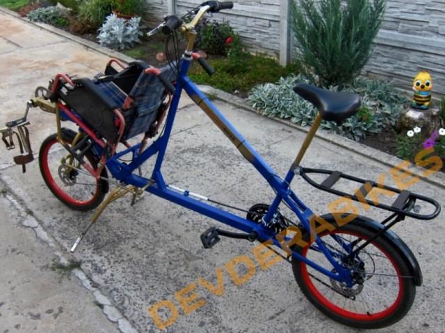 Воля - велосипед для дитини з ДЦП