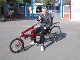 Сергей Одноволиков на аппарате Алексея Горнакова-Зелинского