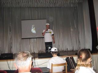 Вступительная речь Зотовича и зрительный зал