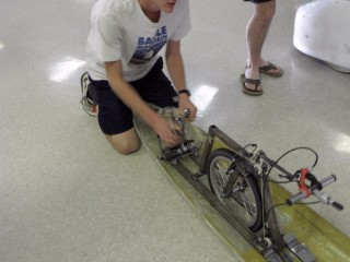 Jay Henry demonstrates Quad Rocket's linear drive