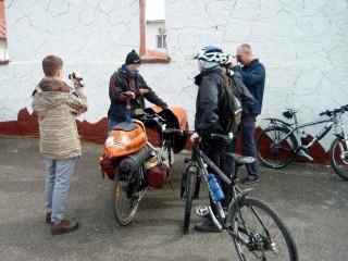 Встреча Алексея Ганшина с кировоградскими велоэнтузиастами