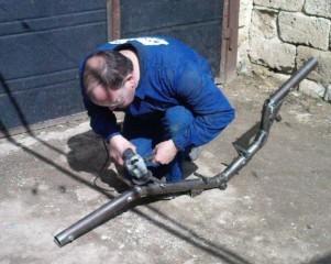 Подготовка рамы лигерада